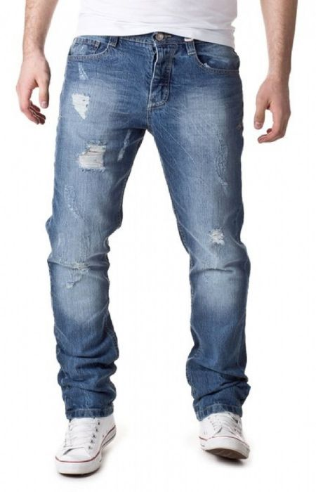 Urban surface  jeans