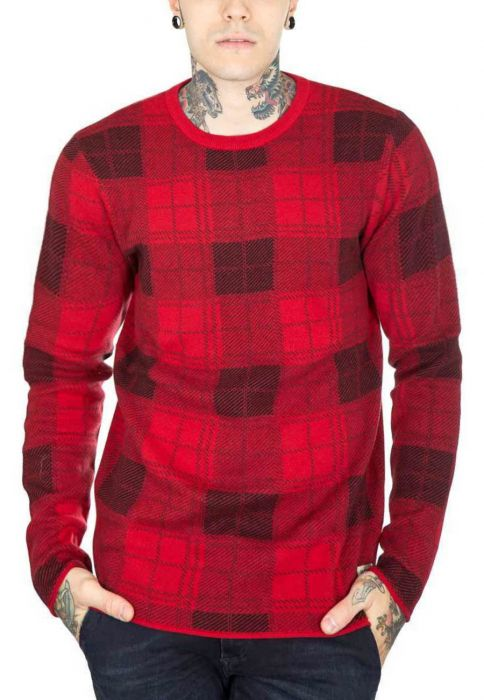 Jack  Jones check  knit