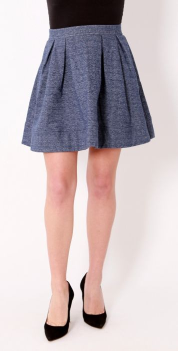 Pieces skirt