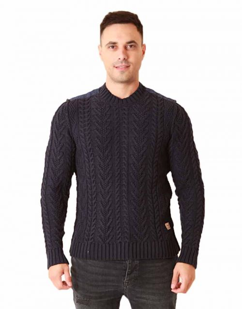 Jack  Jones fu patch knit